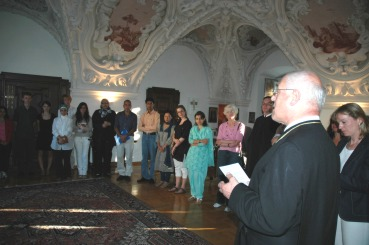 1.Vienna International Christian- Islamic Summer University 2008 im Stift Altenburg