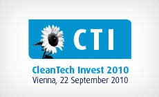 Cleantech Invest 2010 in Schwechat