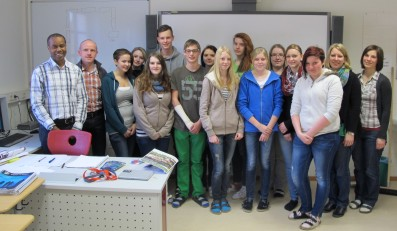 English in Action – mit Mr. Chris Dodd an der LFS-Warth